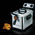 Seb FR404800 Friteuse Filtra Pro Design Inox Cuve Amovible Argenté 4 L 2300 W de la marque SEB image 1 produit