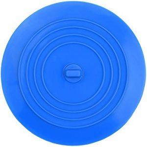 Silicone Évier Passoire Filtre à Evier de Cuisine pour Cuisines, Salles de Bains et Blanchisseries 6 Pouce (Bleu) de la marque Mudder image 0 produit