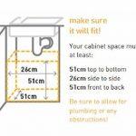 Simplehuman Poubelle Rectangulaire Coulissante Simple Human 30 L (Sac K) de la marque Simplehuman image 2 produit