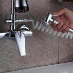 SJQKA-dans la paroi de l'eau chaude et froide du robinet, bassin plat plat, évier, cuisine robinet, single double portait les robinets,b - de la marque SJQKA image 1 produit