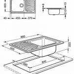 Smeg évier sg861d monovasca dimensions 86x 50cm de la marque Smeg image 1 produit