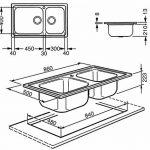 Smeg évier sg8622vasques dimensions 86x 50cm de la marque Smeg image 1 produit