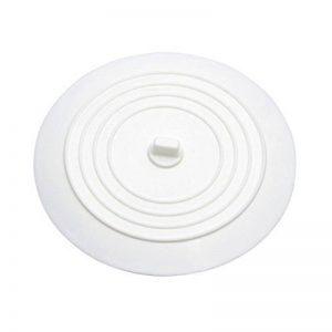 UEETEK Silicone lavabo Bouchon Bouchon de vidange de cuve pour cuisines salles de bains blanchisseries (blanc) de la marque UEETEK image 0 produit