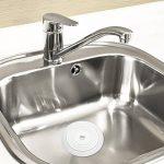 UEETEK Silicone lavabo Bouchon Bouchon de vidange de cuve pour cuisines salles de bains blanchisseries (blanc) de la marque UEETEK image 2 produit
