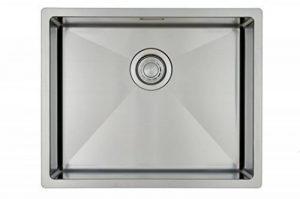 Évier de cuisine Copa Design Linea 50-40 Affleurant / Sous plan - Cuve de cuisine/ évier 1 bac acier inoxydable 594 x 444 mm (R 10 mm) - évier carré - inox brossé de la marque Copa design image 0 produit