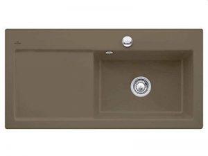 Villeroy boch subway & 60 xL timber évier en céramique-évier de bassin-marron-grand modèle de la marque Villeroy & Boch image 0 produit