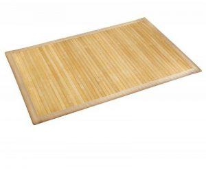 Wenko 17996100 Tapis de bain Bambou Couleur Naturelle - face inférieure antidérapante, Bambou, Marron de la marque Wenko image 0 produit