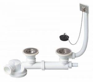 Wirquin TM280099 2 Bondes à bouchon + Tubulure + Prise machine à laver de la marque Wirquin image 0 produit