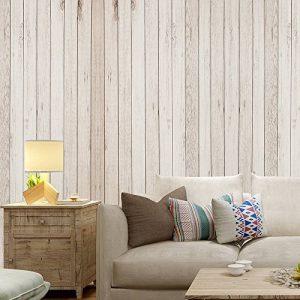 Wopeite Sticker Mural Auto-Adhésif Panneau Bois de Planches en Bois Domicile Décoration Chambre 45 X 1000CM de la marque Wopeite image 0 produit
