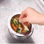 X cool 3pcs cuisine inox évier filtre efficacement anti-colmatage de la marque X-Cool image 4 produit