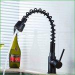 ZXYl'évier robinet european se évier cuisine cuivre noir froid, eau chaude quartz noir mélangé avec de l'eau de la marque Zxy Home Bathroom image 4 produit